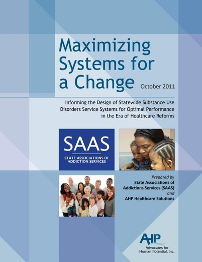 First page of PDF with filename: Maximizing Systems for Change.pdf