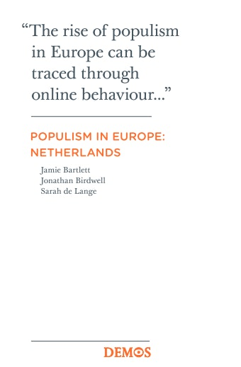 First page of PDF with filename: Populism-in-Europe-Netherlands-20120911.pdf