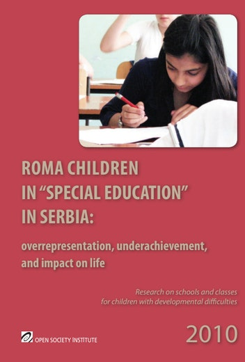 First page of PDF with filename: roma-children-serbia-20101019.pdf