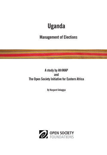 First page of PDF with filename: uganda-election-report-20101019.pdf