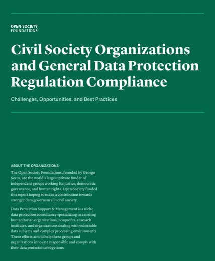 First page of PDF with filename: civil-society-organizations-and-gdpr-compliance-20200210.pdf