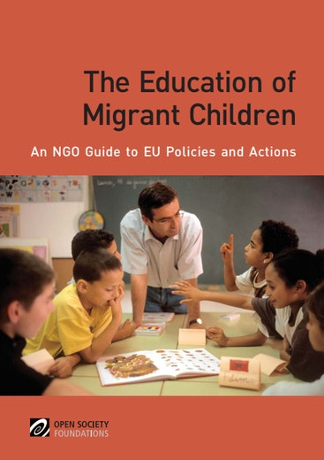 First page of PDF with filename: education-migrant-children-20101130.pdf