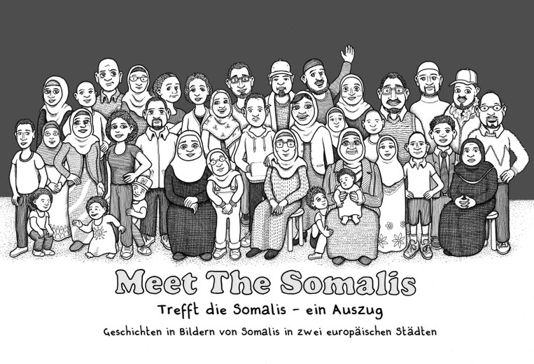 First page of PDF with filename: meet-the-somalis-de-20190820.pdf