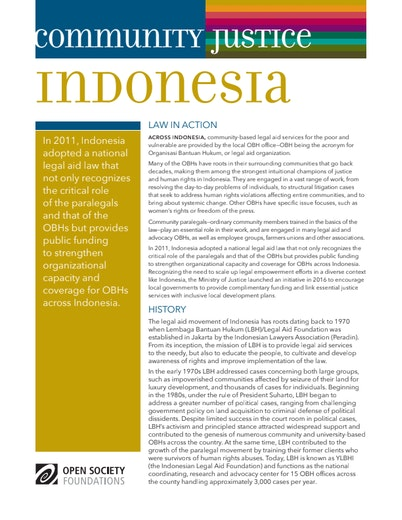 First page of PDF with filename: community-legal-indonesia-20160920.pdf