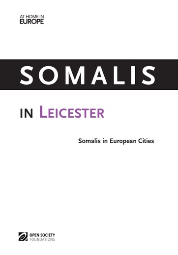 First page of PDF with filename: somalis-leicester-20140917_0.pdf