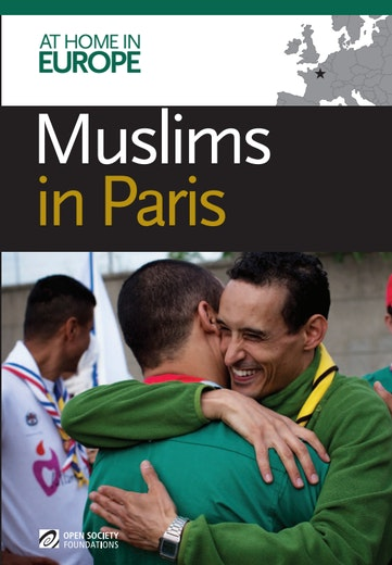 First page of PDF with filename: muslims-in-paris-20120720.pdf