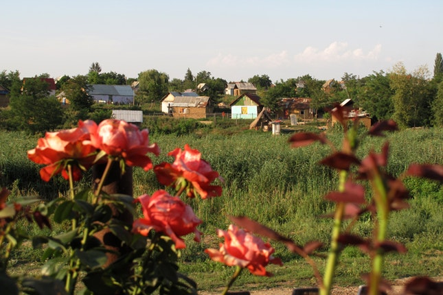 A Roma village