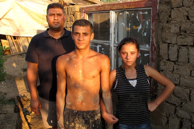 Roma residents