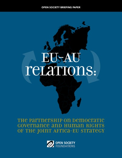 First page of PDF with filename: eu-au-relations-20100708.pdf