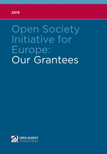 First page of PDF with filename: open-society-initiative-for-europe-2015-20170424.pdf
