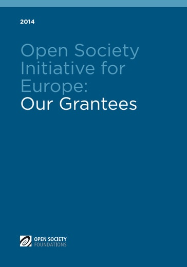 First page of PDF with filename: open-society-initiative-for-europe-2014-20170424.pdf