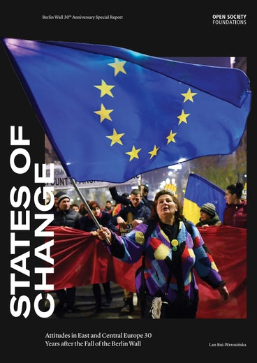 First page of PDF with filename: states-of-change-attitudes-in-central-and-eastern-europe-30-years-after-the-fall-of-the-berlin-wall-eng-20191104.pdf