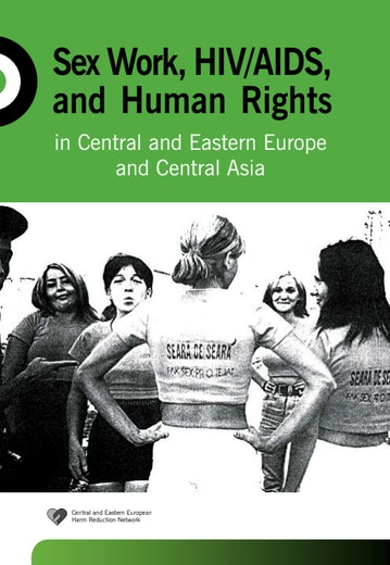 First page of PDF with filename: sex-work-hiv-aids-and-human-rights-in-central-and-eastern-europe-and-central-asia-20050701.pdf