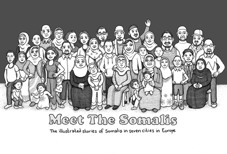 First page of PDF with filename: meet-the-somalis-malmo-sv-20140127.pdf