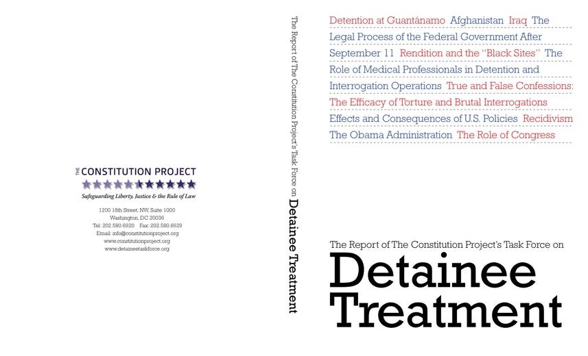 First page of PDF with filename: constitution-project-report-on-detainee-treatment_0.pdf