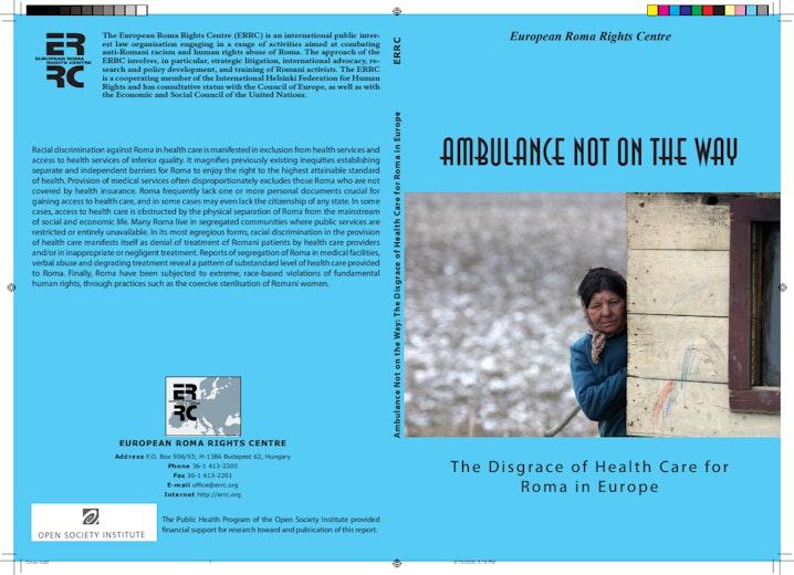 First page of PDF with filename: ambulance_20061004.pdf