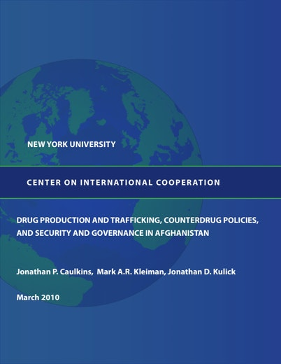 First page of PDF with filename: cic-drug-trafficking-20100706.pdf