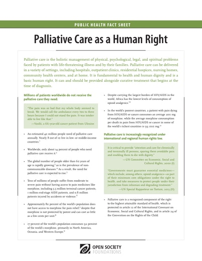 First page of PDF with filename: palliative-care-human-right-fact-sheet-20160218.pdf