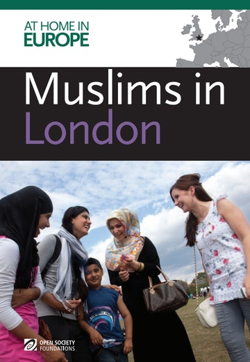 First page of PDF with filename: muslims-in-london-20120715.pdf