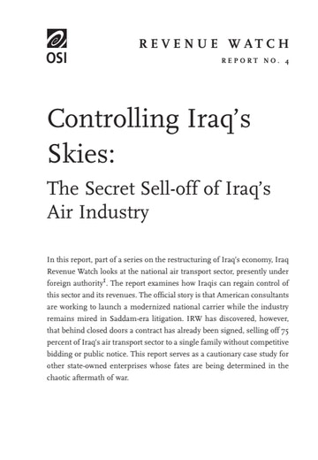 First page of PDF with filename: 020604_iraq.pdf