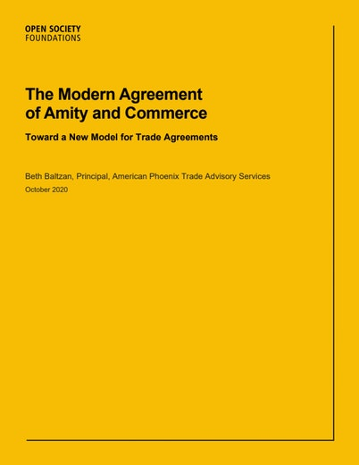First page of PDF with filename: the-modern-agreement-of-amity-and-commerce-20201029.pdf