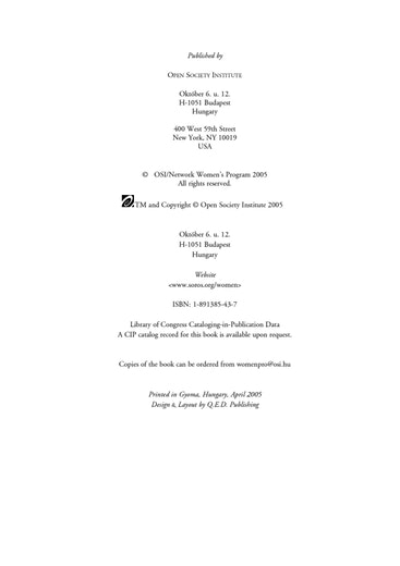 First page of PDF with filename: a_equal_20050502.pdf