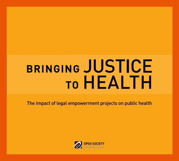 First page of PDF with filename: bringing-justice-health-20130923_0.pdf